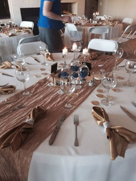 Custom Catering Table Setting Tucson Private Party Residence - Catering table setting