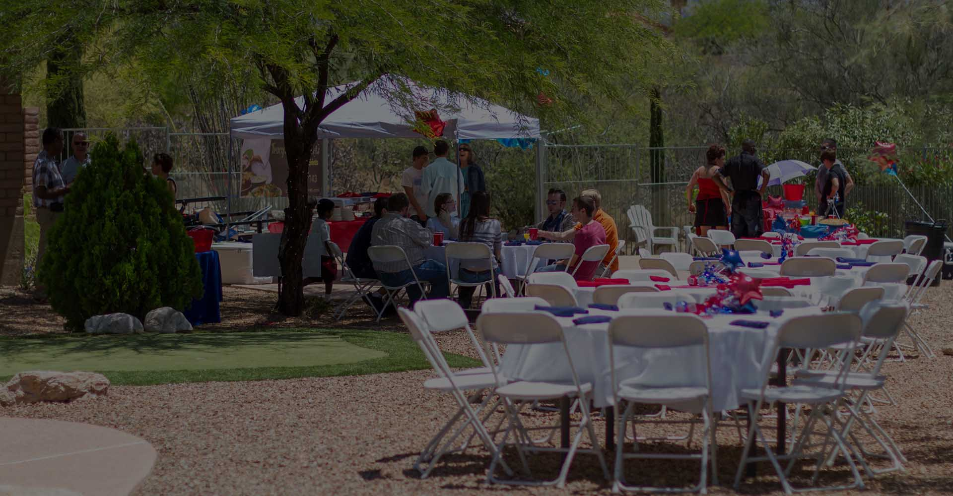 Corporate and Business Catering Outdoors Tucson